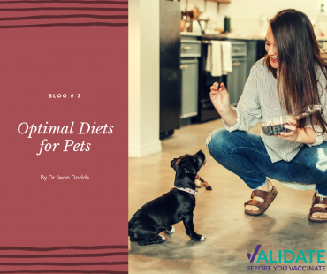 Optimal Diets for Pets