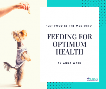 Feeding for Optimum Health