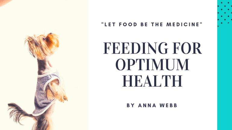 Feeding for Optimum Health